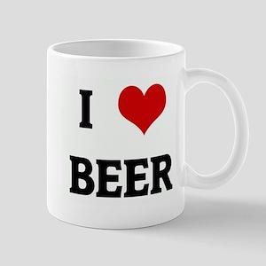 I Love BEER Mug