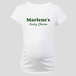 Marlenes Lucky Charm Maternity T-Shirt