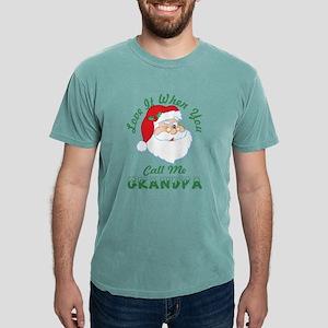 Love It When You Call Me Grandpa Santa Chr T-Shirt