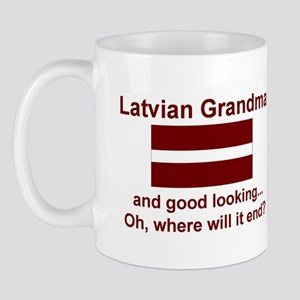 Good Looking Latvian Grandma Mug