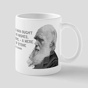 Darwin - Face - Stone Mug