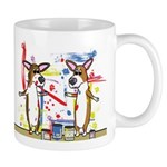 Painting Fun Corgis Mug
