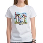 Painting Fun Corgis Women's Tee Shirt