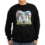 Painting Fun Corgis Sweatshirt (dark)