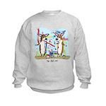 Painting Fun Corgis Kids Sweatshirt
