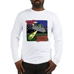Corgi Alien Abduction Long Sleeve T-Shirt