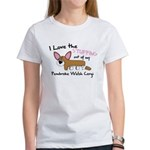 Stuffing Pembroke Welsh Corgi Women's T-Shirt