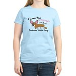 Stuffing Corgi Women's Light T-Shirt