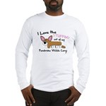 Stuffing Pembroke Welsh Corgi Long Sleeve T-Shirt