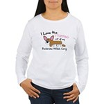 Stuffing Corgi Women's Long Sleeve T-Shirt