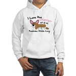 Stuffing Pembroke Welsh Corgi Hooded Sweatshirt
