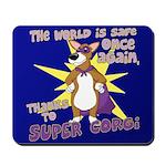 Superhero Corgi Mousepad