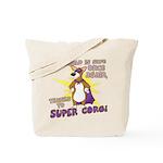Superhero Corgi Tote Bag (Cartoon)