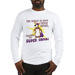 Superhero Corgi Long Sleeve T-Shirt