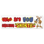 Not So Short Corgi Bumper Sticker