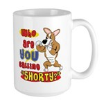 Not So Short Corgi Large Mug