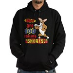 Not So Short Corgi Hoodie (dark)
