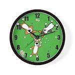 Summer Corgi Trio Wall Clock
