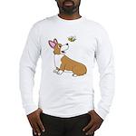 Corgi Bee Long Sleeve T-Shirt