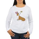 Corgi Bee Women's Long Sleeve T-Shirt