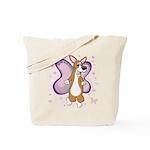 Corgi Butterfly Whimsy Tote Bag