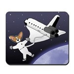 Space Corgi Mousepad