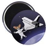 Space Corgi Magnet