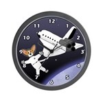 Space Corgi Clock (Cartoon Gifts)