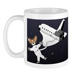 Space Corgi Mug (Full Space)