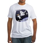 Space Corgi Fitted T-Shirt