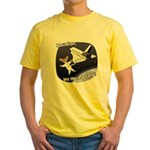 Space Corgi Yellow T-Shirt