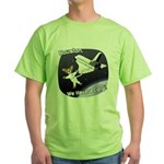 Space Corgi Green T-Shirt