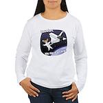 Space Corgi Women's Long Sleeve T-Shirt