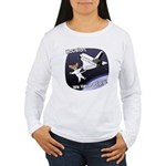 Space Corgi Women's Long Sleeve T-Shirt