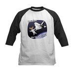 Space Corgi Kids Baseball Jersey