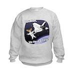 Space Corgi Kids Sweatshirt