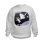 Space Corgi Kids Sweatshirt