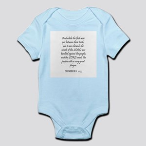 NUMBERS  11:33 Infant Creeper