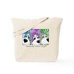 Pembroke Welsh Corgi Strips Tote Bag