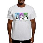 Pembroke Welsh Corgi Strips Light T-Shirt