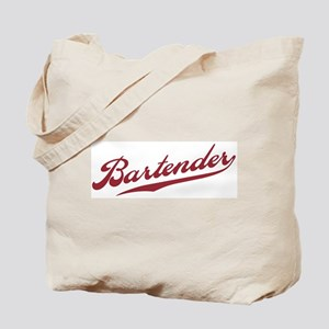 Retro Bartender Tote Bag