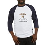Corgi Bad Day Baseball Jersey