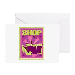 SHOP Greeting Card