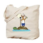 Corgi Sea Adventure Tote Bag
