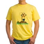 Corgi Sea Adventure Yellow T-Shirt