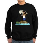 Corgi Sea Adventure Sweatshirt (dark)