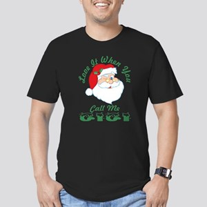 Love It When You Call Me Gigi Santa Christ T-Shirt