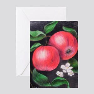 country apples Greeting Card