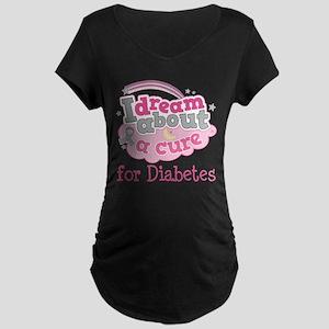 DIABETES Cure Maternity T-Shirt