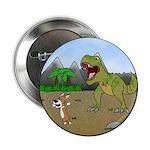 """Corgi T-Rex Experience 2.25"""" Button"""